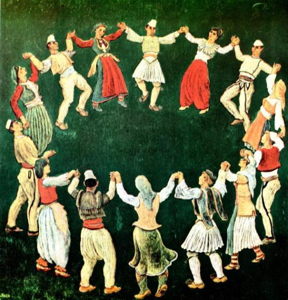 Albanian Dancers - Abdurrahim Buza - 1971