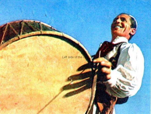 Albanian traditional musical instruments - drum