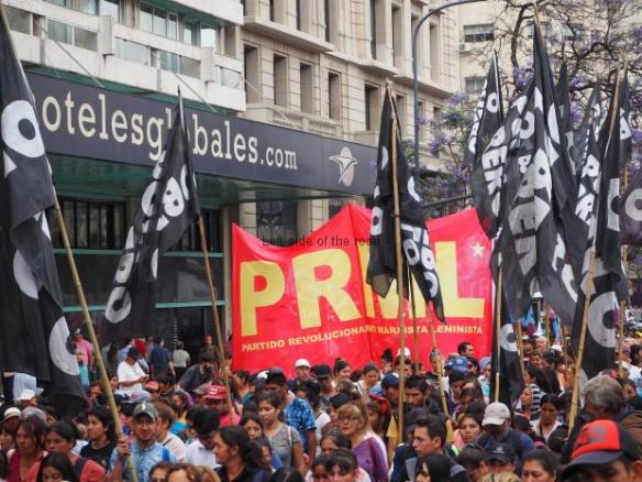 Buenos Aires Demonstration - 26th November 2018