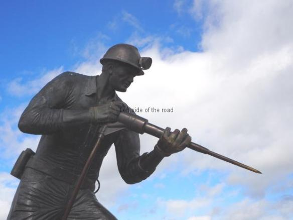 Miner's Statue - Puerto Natales