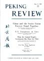 Peking Review 1959 - 22