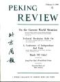 Peking Review 1960 - 06