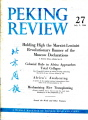 Peking Review 1960 - 27