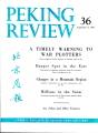 Peking Review 1961 - 36