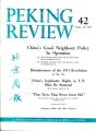 Peking Review 1961 - 42
