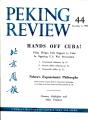 Peking Review 1962 - 44