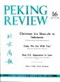Peking Review 1963 - 16