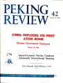 Peking Review 1964 - 42