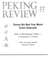 Peking Review - 1972 - 27