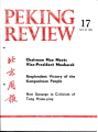 Peking Review - 1976 - 17