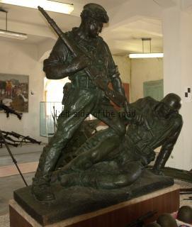 The Triumphant Partisan - Gjirokastra