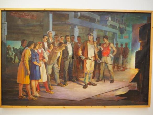 Dhimeter Mborja - freinds of the factory - 1969