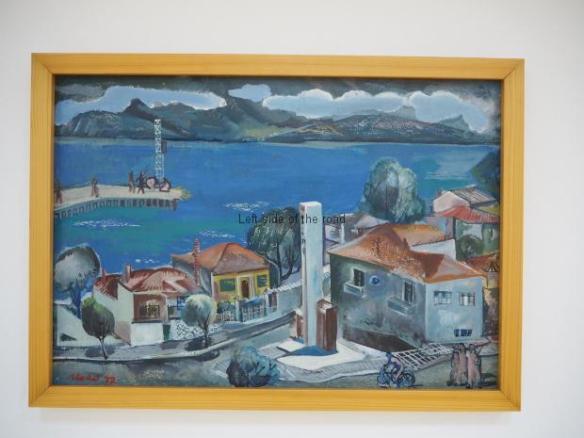 Skender Lako - Landscape of Pogradec - 1972