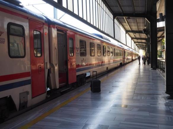 Dogu Ekspresi on Platform 1 - Ankara Gar
