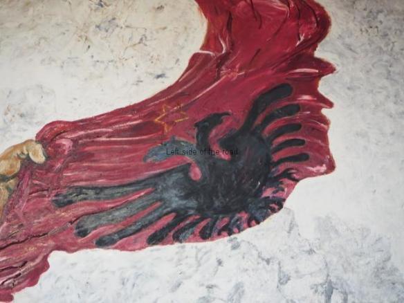 The Albanian Communist Banner