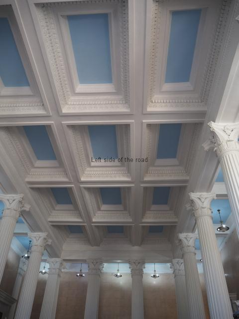 Spring No. 6 - Entrance Hall ceiling