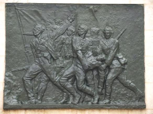 Monument to the Partisan - Bas relief 1