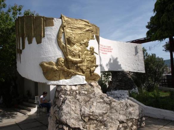 Monument to the 15th Partisan Assault Brigade - Elbasan
