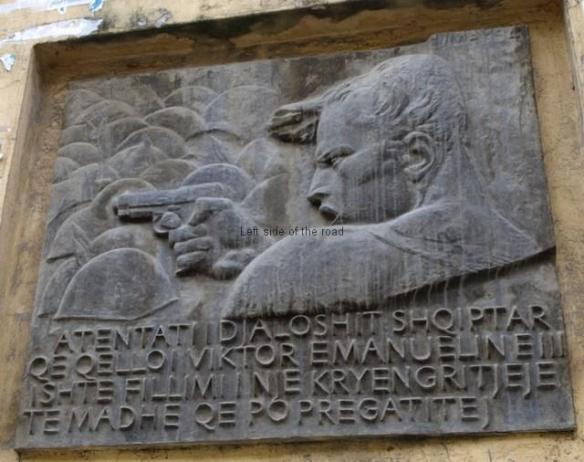 Monument to Vasil Laçi - Thoma Thomaj