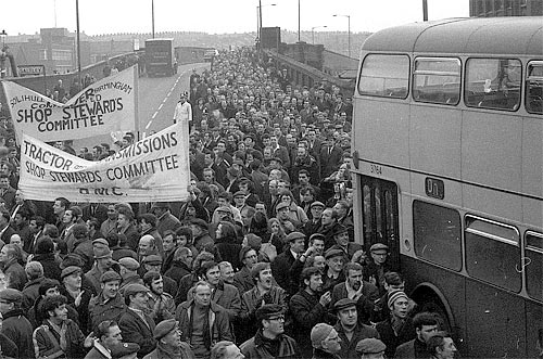 The Battle of Saltley Gate 1972 - 01