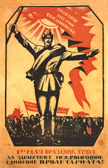 Workers of the World - Unite, May Day 1920