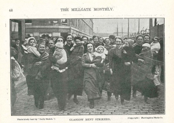 Glasgow Rent Strikers 1915