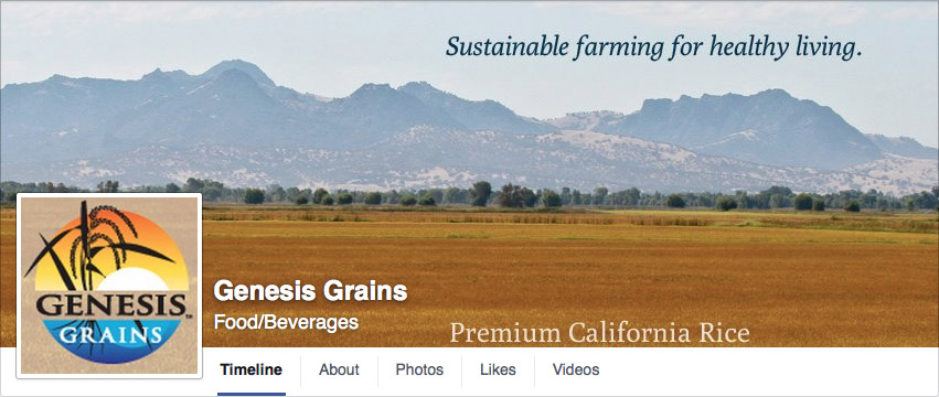 Genesis Grains facebook