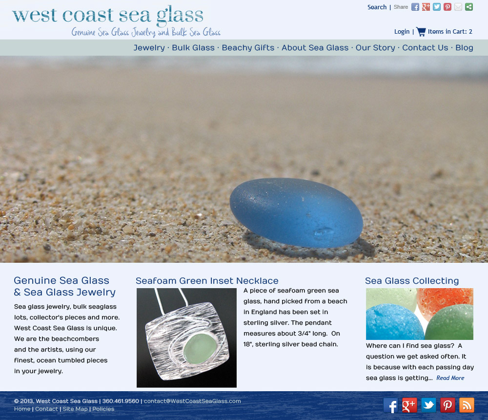 West Coast Sea Glass web