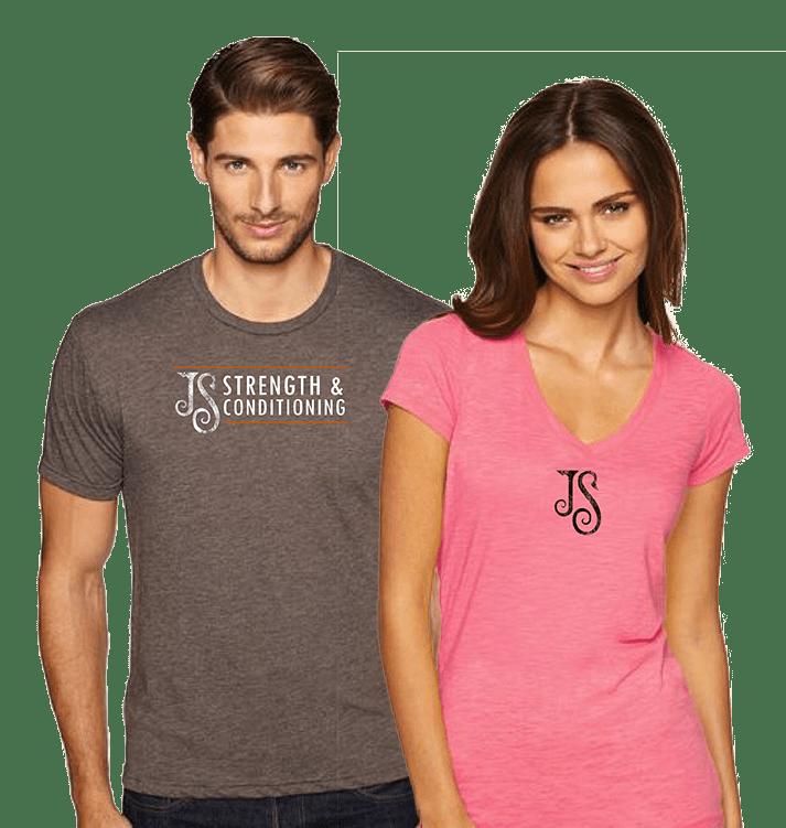 JS Strength shirts
