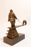 A View from the Shore – Michael Hermesh, Bronze, 13.5 X 14 X 5 inches, New Bronze Releases by Michael Hermesh