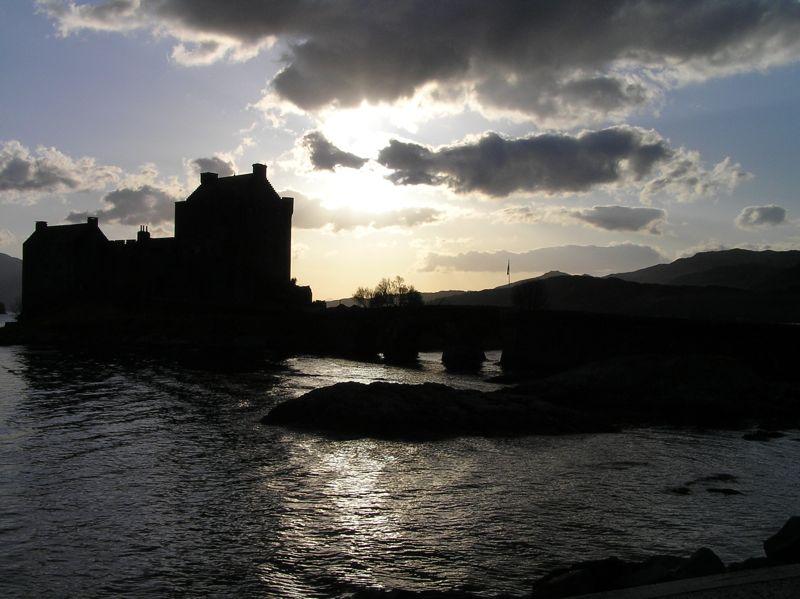 Eilean Donan Castle of Scotland.