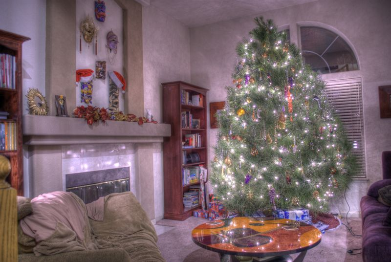 A Very HDR Christmas.