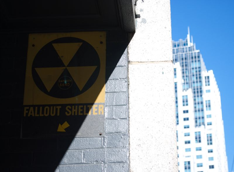 I found these Fallout Shelter signs scattered throughout Boston.