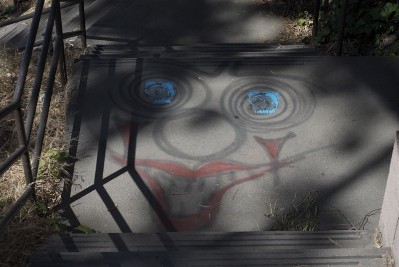 A new series of graffiti pieces have been cropping up around UCSB.