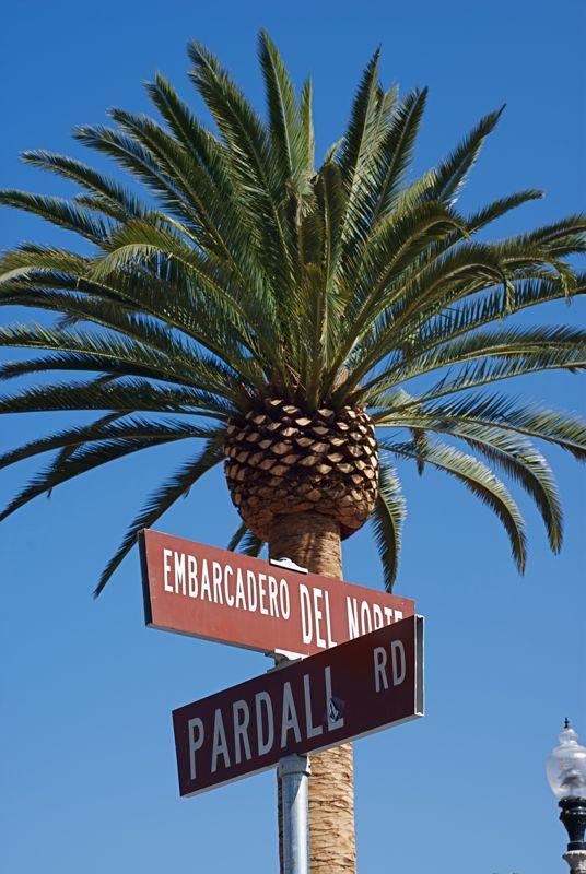 The main Isla Vista intersection.