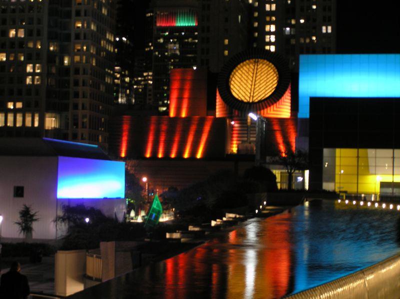 San Francisco Museum of Modern Art. At Night.