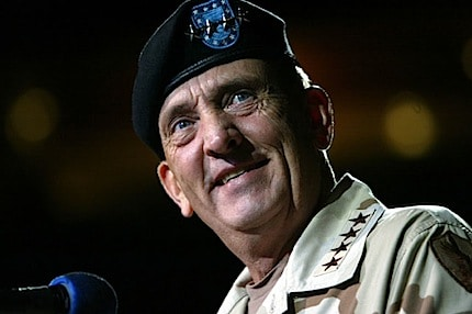 Photograph of General Tommy Franks in His Army Uniform