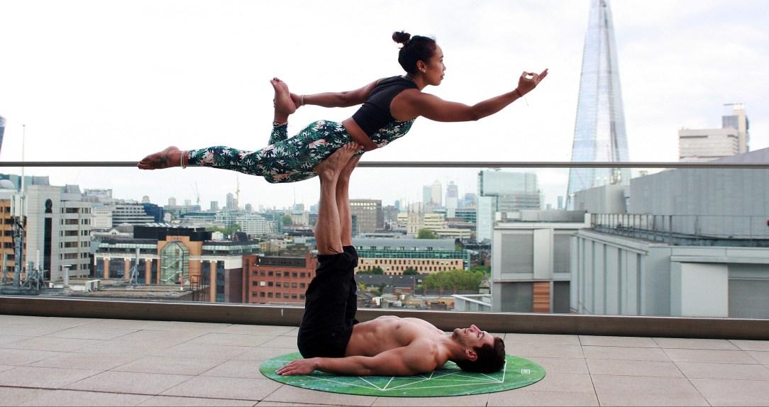I used to do a bit of yoga. Now I want to make it a habit.