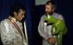 with Kermit the Frog, thriller era