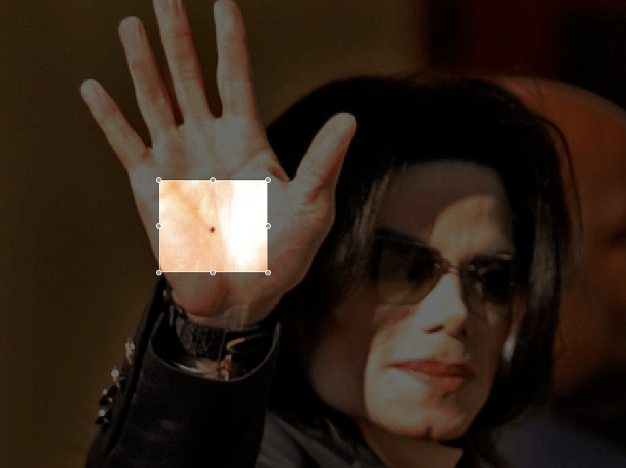Michael Jackson right hand