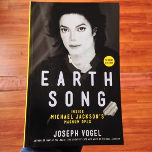 The cover of 'Earth Song: Inside Michael Jackson's Magnum Opus'