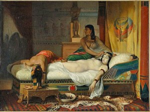 D. Pauvert, The Death of Cleopatra, former private collection Michael Jackson