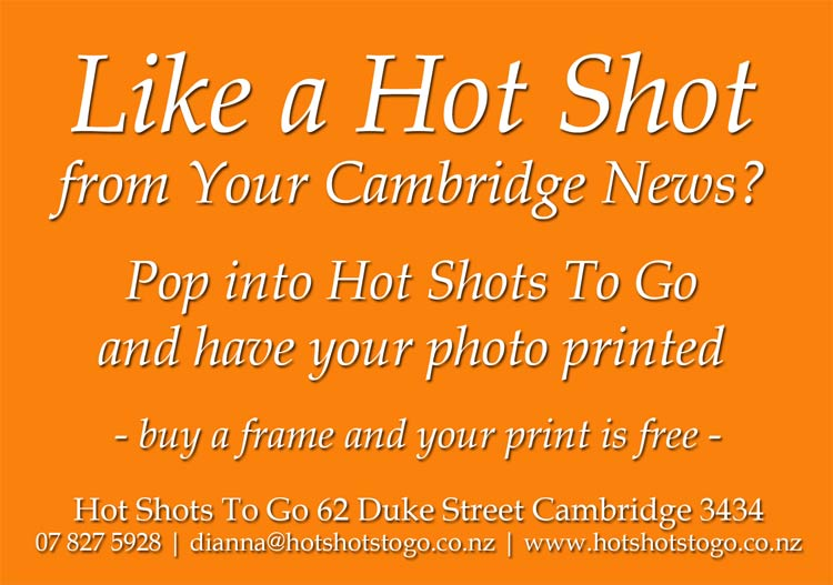 Your Cambridge News photosales at Hot Shots To Go