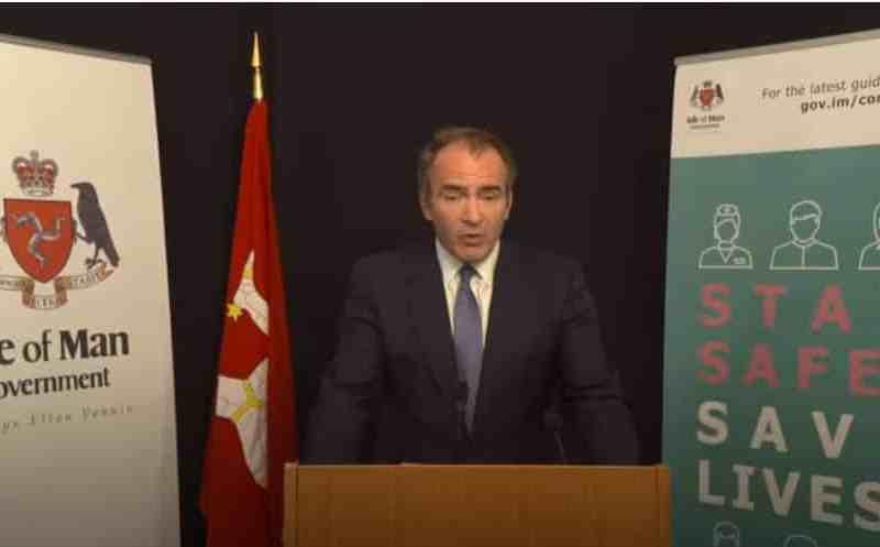 Alf Cannan at the 20 May Press Conference