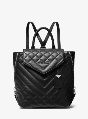 Blakely Medium Quilted Leather Backpack Michael Kors