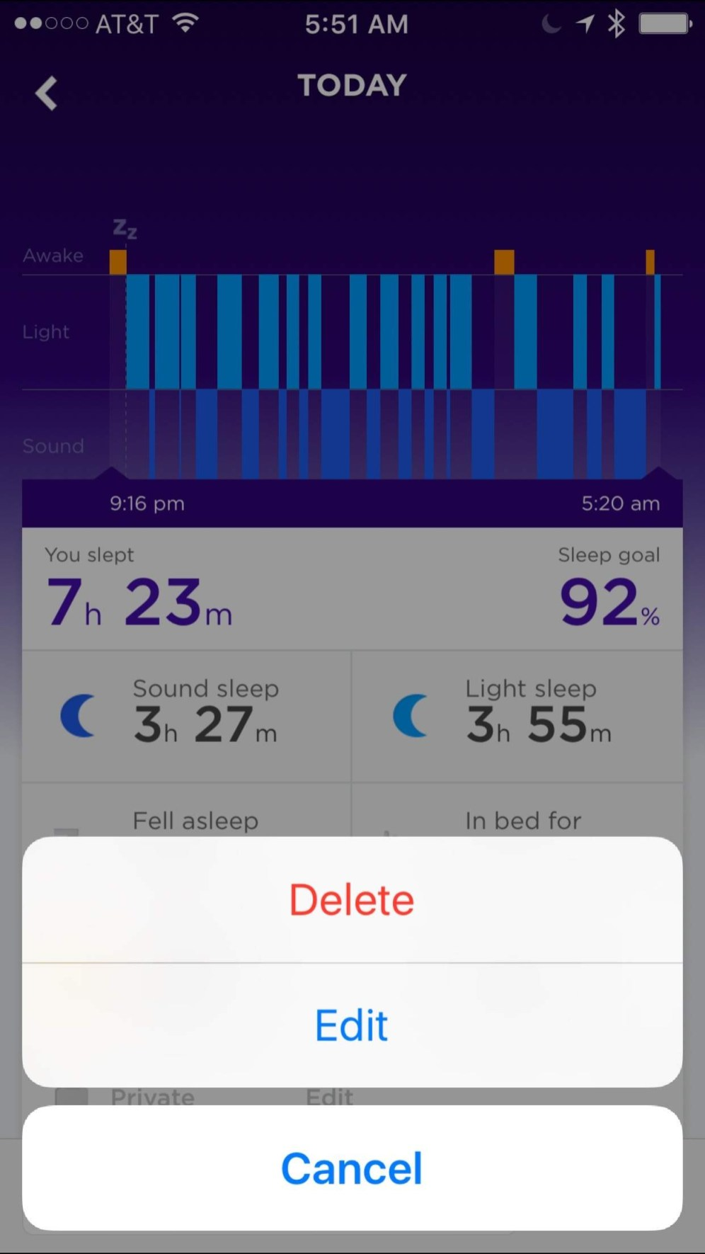 how to track sleep with apple watch