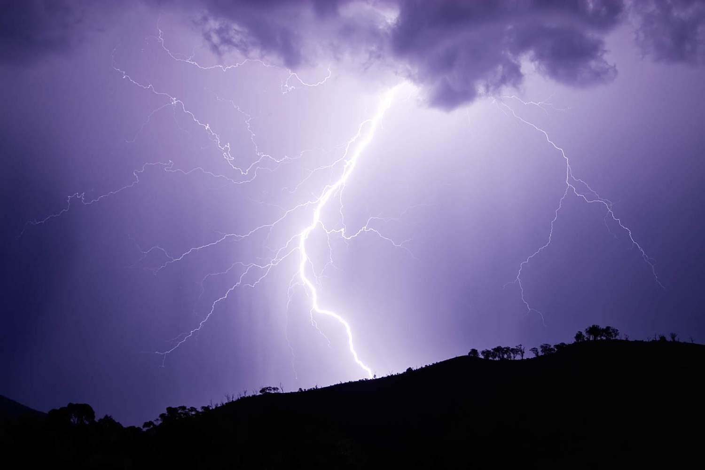 Lightning strike - surge protector