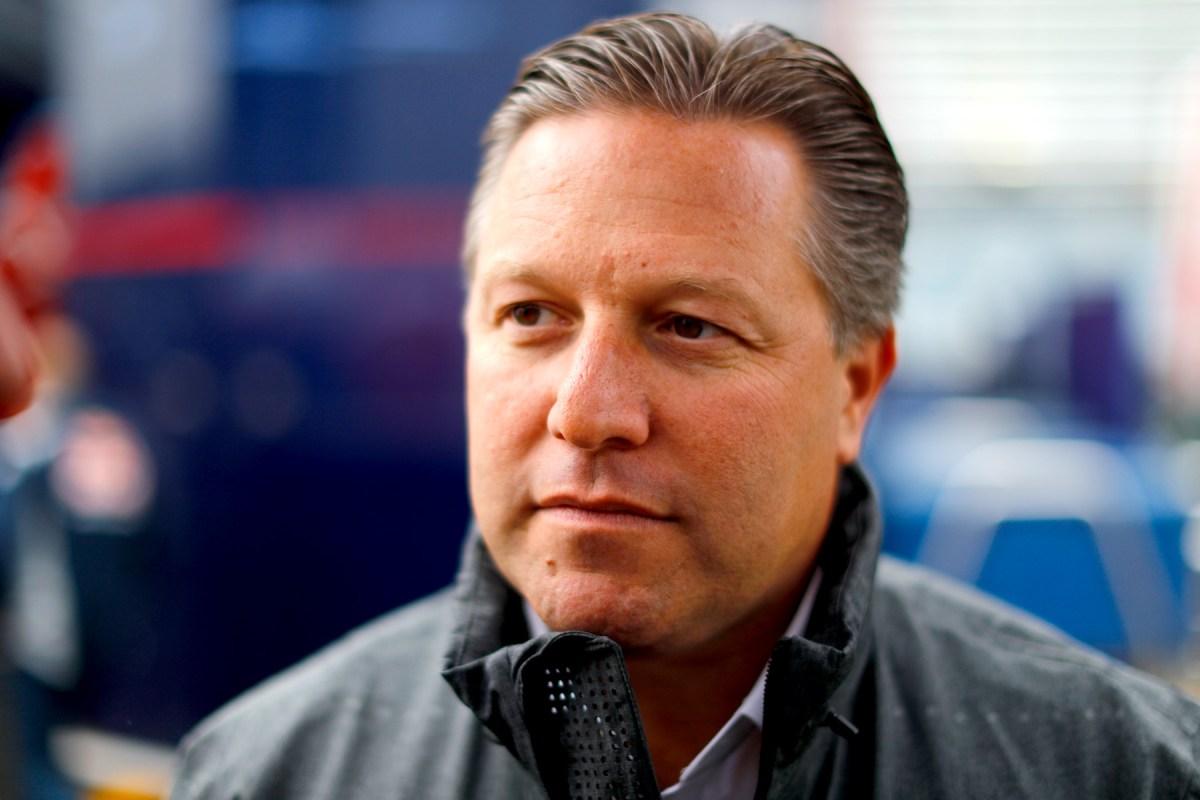 McLaren executive director Zak Brown.
