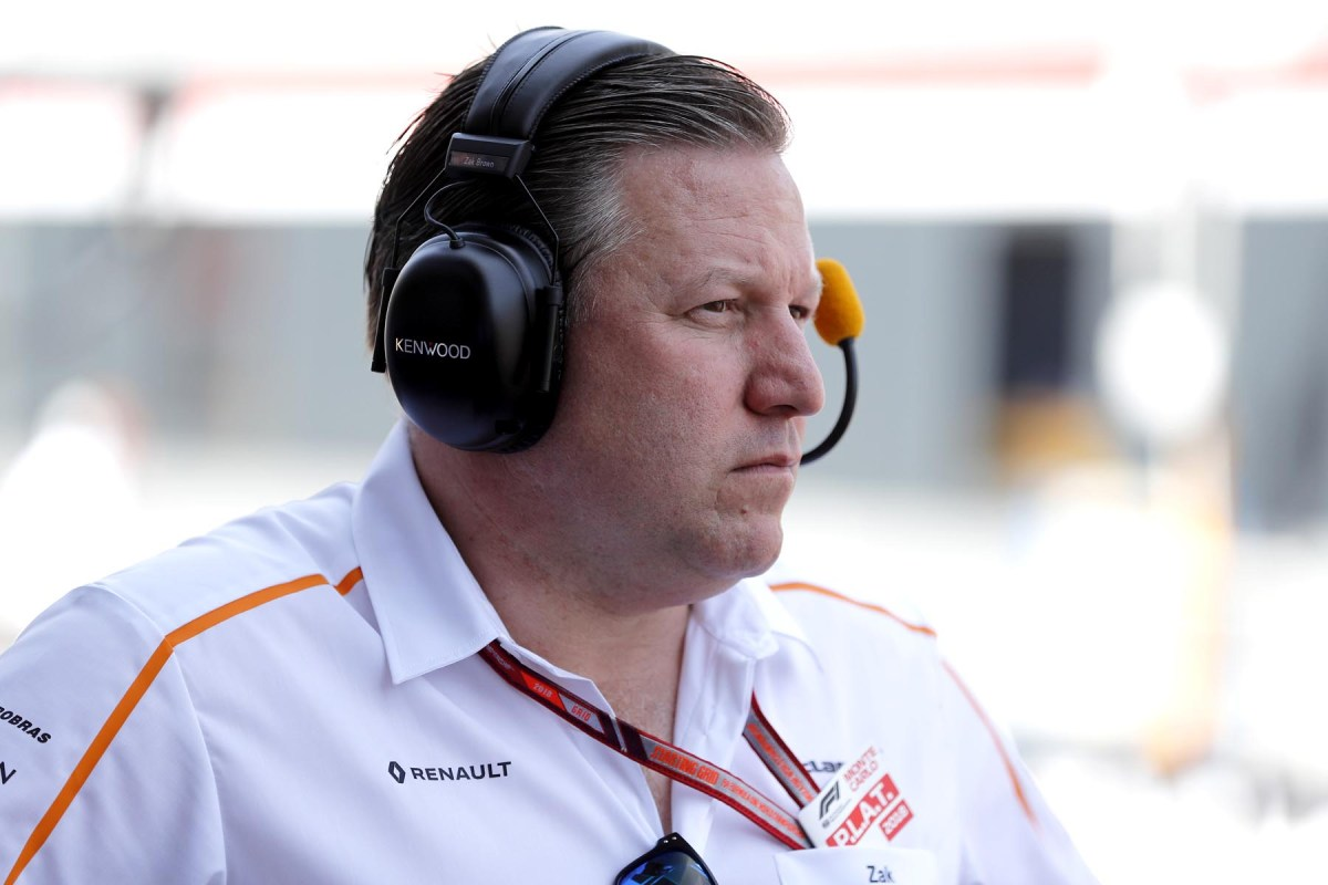 McLaren CEO Zak Brown.
