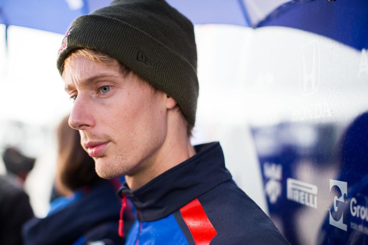 Brendon Hartley at the 2018 United States Grand Prix.